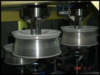 Successfully launched high-speed automatic rims transfer machinery.